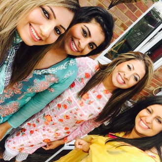 Eid with my beautiful sisters