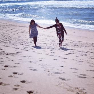Beach walking, Porto, Portugal